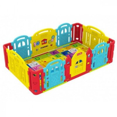 Deluxe Play Yard and Entertainment Center w-Playmat picture 1