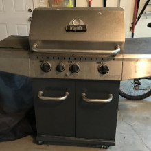 Stainless steel Propane bbq- broil mate