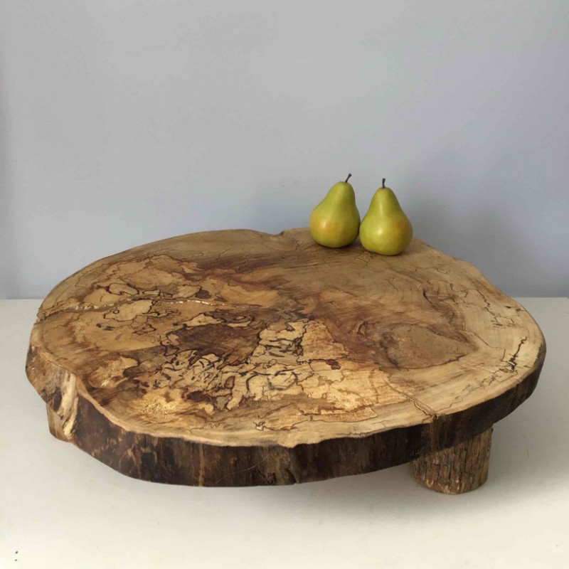 Cake stand - serving platter - charcuterie board - (extra large)