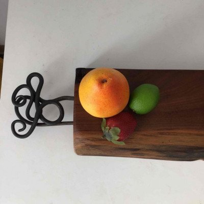 charcuterie board - serving board with handles-2