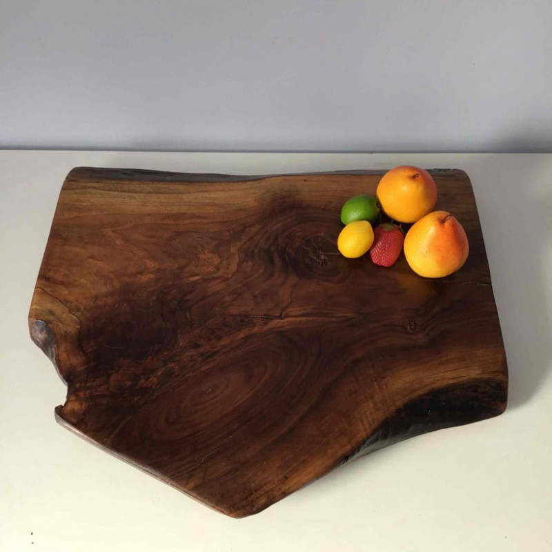Charcuterie board - serving board - with legs