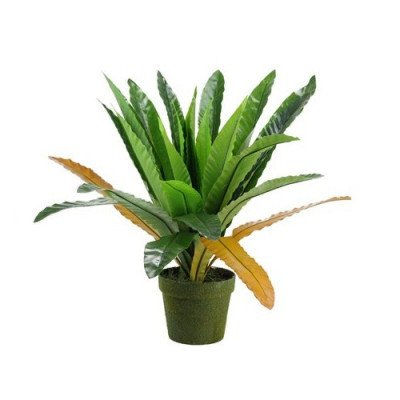 decorative potted artificial green fern-1