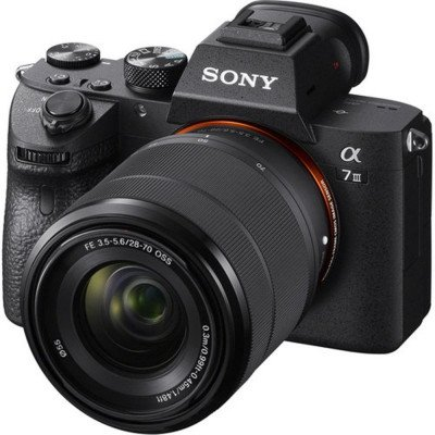 camera with 28-70mm lens