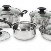 8pc cooking pots set