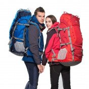 55l hiking backpack with rain cover
