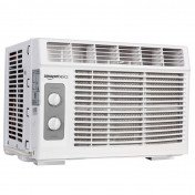 Window-mounted air conditioner with mechanical control