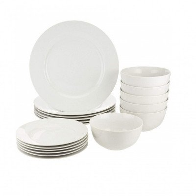 white kitchen dinnerware set-1