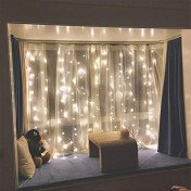 waterfall string lights
