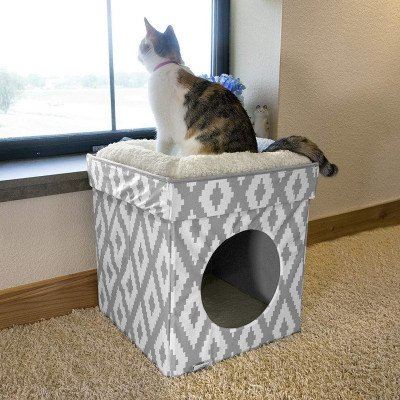stackable cat cube