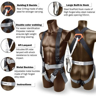 safety harness - full body-1