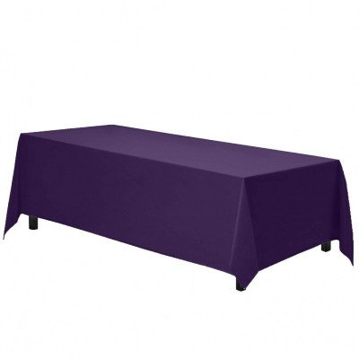 rectangle tablecloth - purple