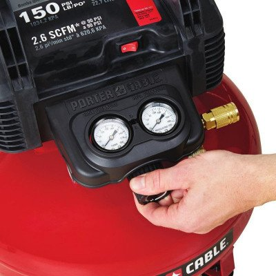 portable electric pancake air compressor-2