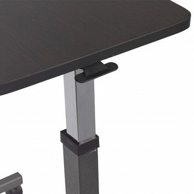 medical non tilt top overbed table-1