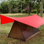 lightweight camping tent breathable bug shelter