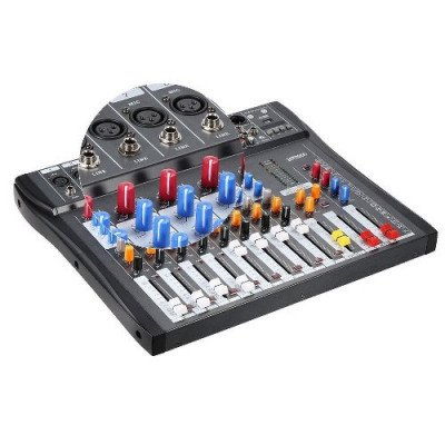 audio mixing console-1