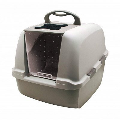 jumbo hooded cat litter pan