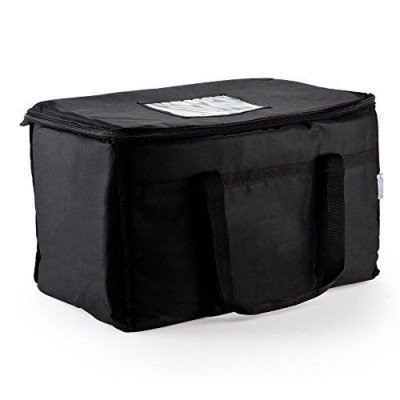 insulated nylon food delivery bag