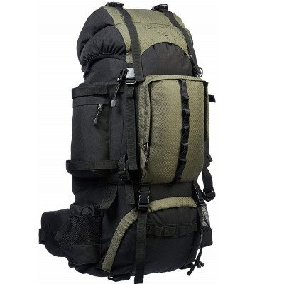 hiking backpack with rainfly-1