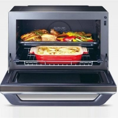 3 in 1 combination oven, stainless steel