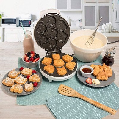 animal mini pancake maker-3