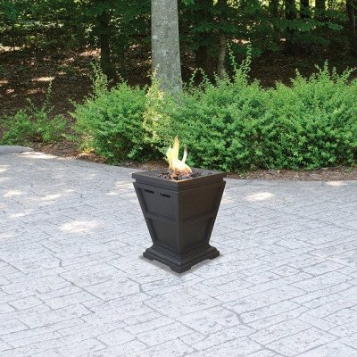 gas outdoor tabletop fireplace