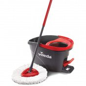 easy wring microfibre spin mop and bucket