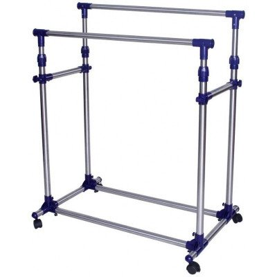 double rod garment rack-2