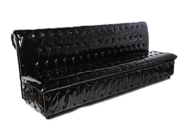 Gatsby – 8' Black Sofa