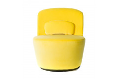 Yellow Spin Chair