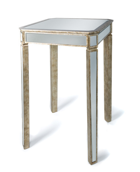 Mirrored High Top Table