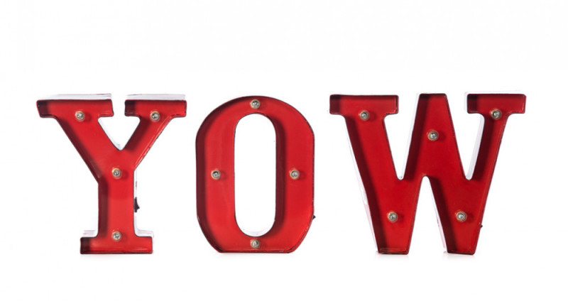 YOW Marquis Sign