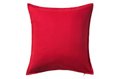 Red Solid Pillow