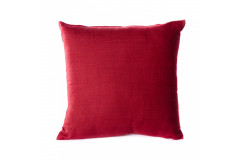 Solid Deep Red Pillow