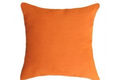 Solid Orange Pillow