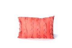 Burnt Orange Rectangular Pillow