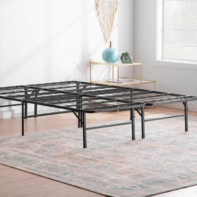 folding king bed frame picture 1