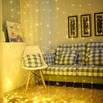 window curtain lights picture 2