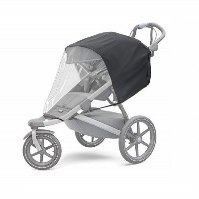 jogging stroller with rain cover picture 1