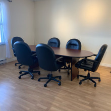 Board room table & 6 chairs