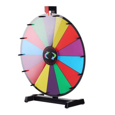tabletop spinning prize wheel picture 2