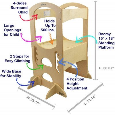 Step Stools - Learning Tower picture 2