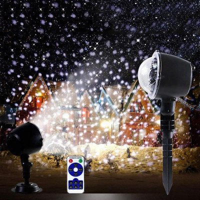 snowfall light projector picture 1