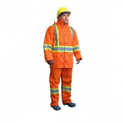 high visibility rain suit picture 1