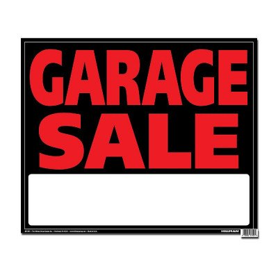 Jumbo Sign - Garage Sale picture 1