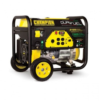 champion 6500-watt dual fuel generator picture 1