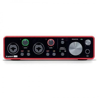 2x2 usb 2.0 audio interface picture 2