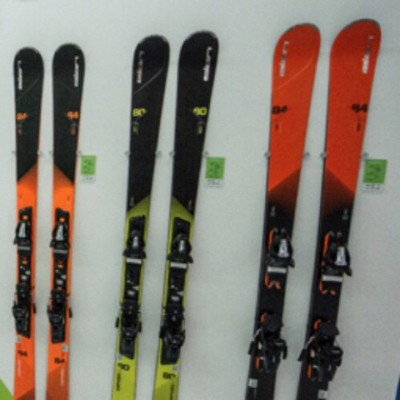 elan- alpine junior skis - 130-140cm-1