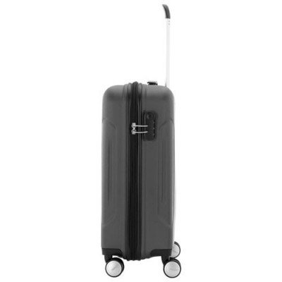 """american tourister ashcroft 18"""" hard side carry-on luggage - dark slate-2"""