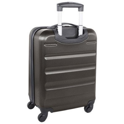 "swissgear silver star 20"" hard side carry-on luggage - charcoal-1"