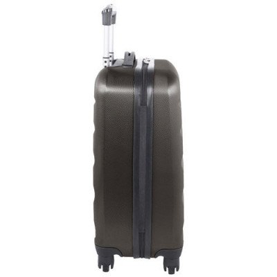 "swissgear silver star 20"" hard side carry-on luggage - charcoal-2"
